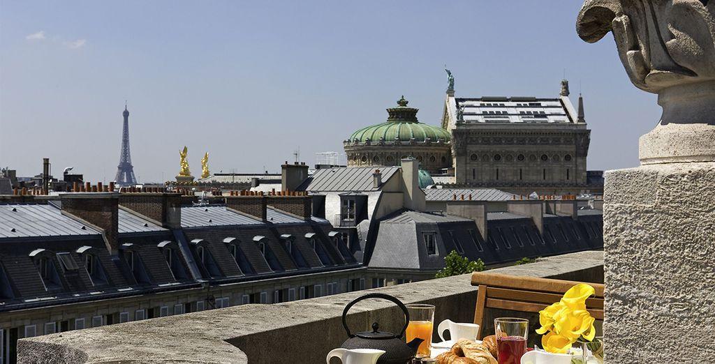 Et admirez Paris depuis votre fenêtre