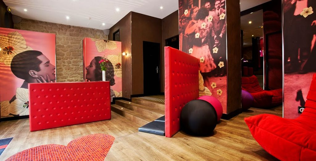 Entrez dans le sublime hôtel Montmartre Mon Amour