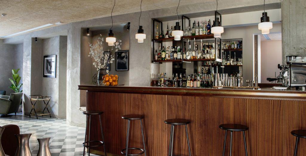 Et rendez-vous au bar pour siroter un cocktail