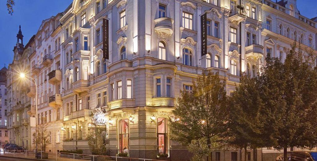 Envie de vous envoler ?  - Hôtel Mamaison Riverside 5* Prague
