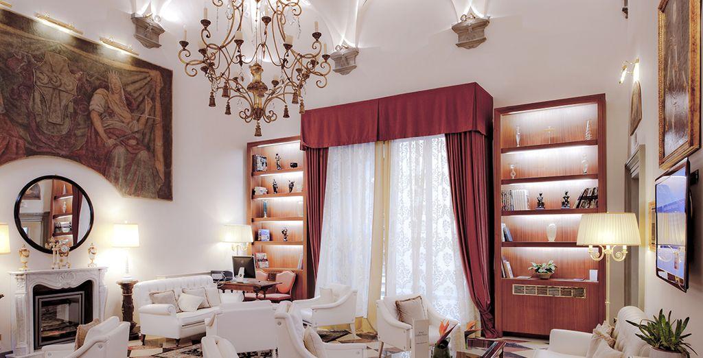 Découvrez cet hôtel aussi majestueux que luxueux - Golden Tower ***** Florence
