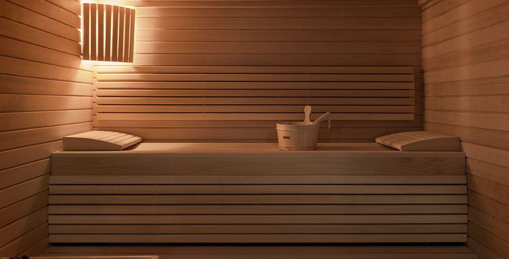 Ou par le sauna finlandais...