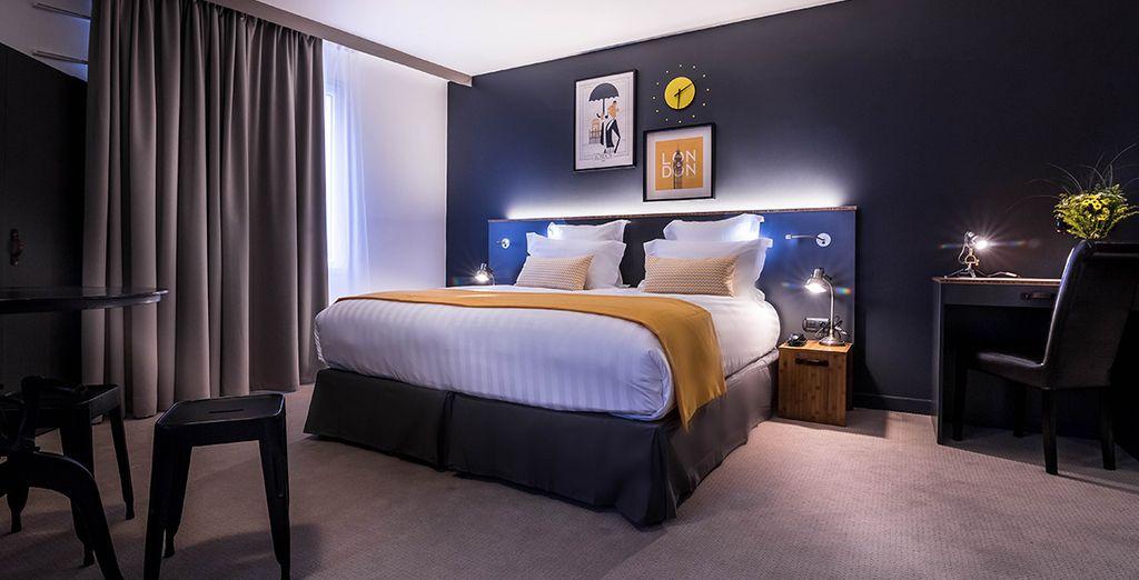 Si la décoration de l'hôtel vous transportait déjà... Attendez de voir votre chambre
