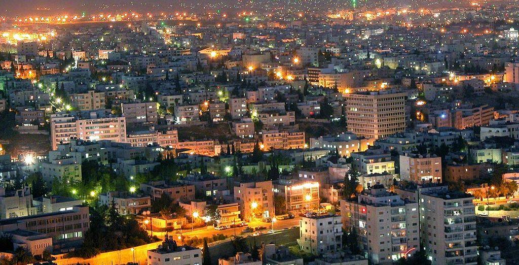 Vous commencerez votre voyage à Amman