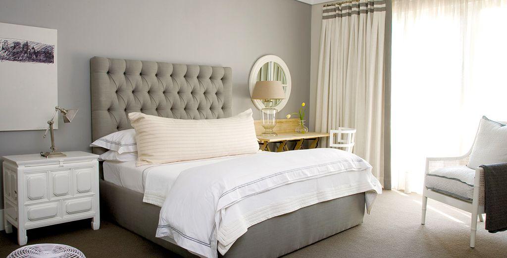 Posez vos valises en Suite Deluxe, confortable et spacieuse.