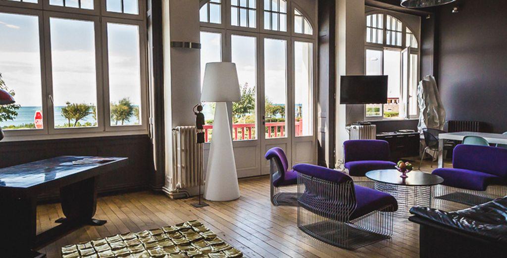 Une vue imprenable  - Appartement 3 chambres pour 4-7 personnes (180m2) Biarritz
