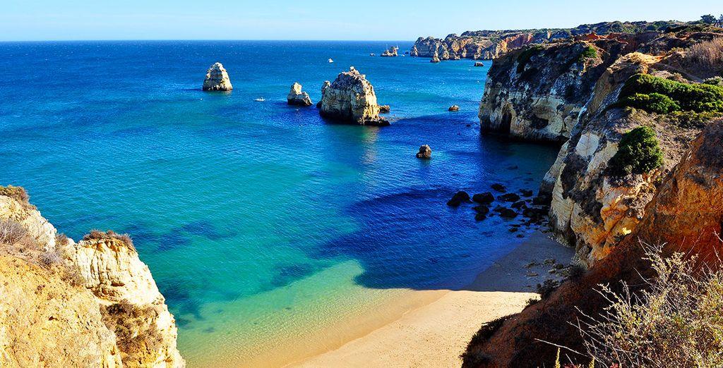 Direction l'Algarve et sa douceur de vivre...