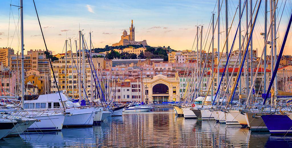 Scoprite il porto di Marsiglia e l'atmosfera unica