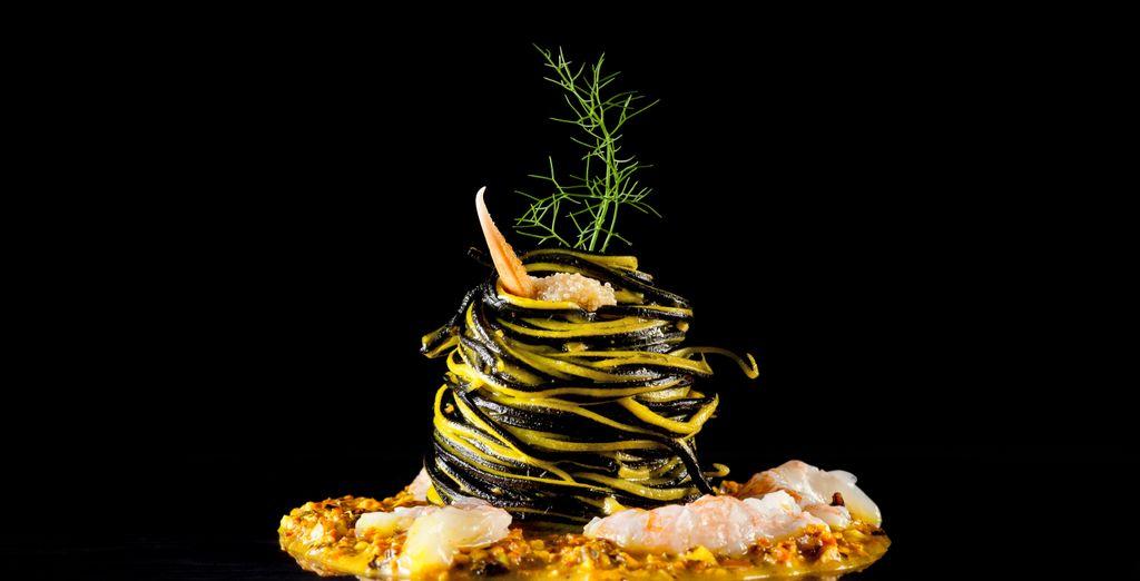 E assaporate deliziose creazioni culinarie