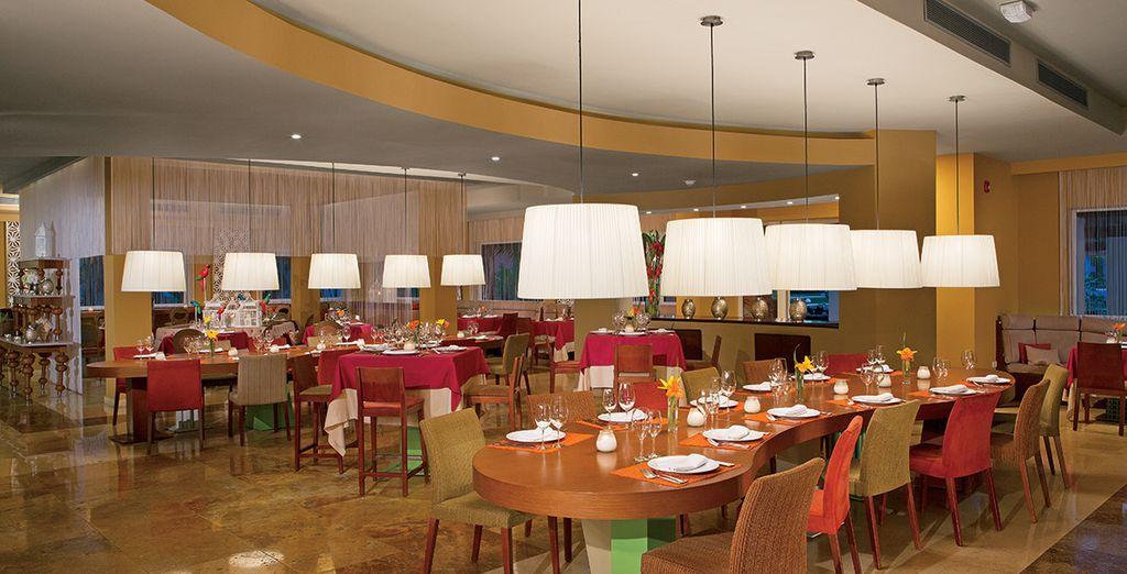 L'hotel offre diversi ristoranti per tutti i gusti