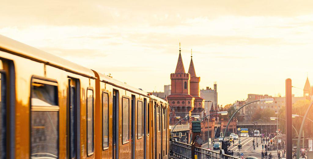 E ammirare la capitale tedesca da ogni angolo