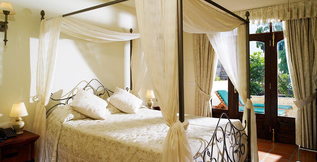 Soggiornerete in splendidi Appartamenti Suites, dotati di tutti i comfort