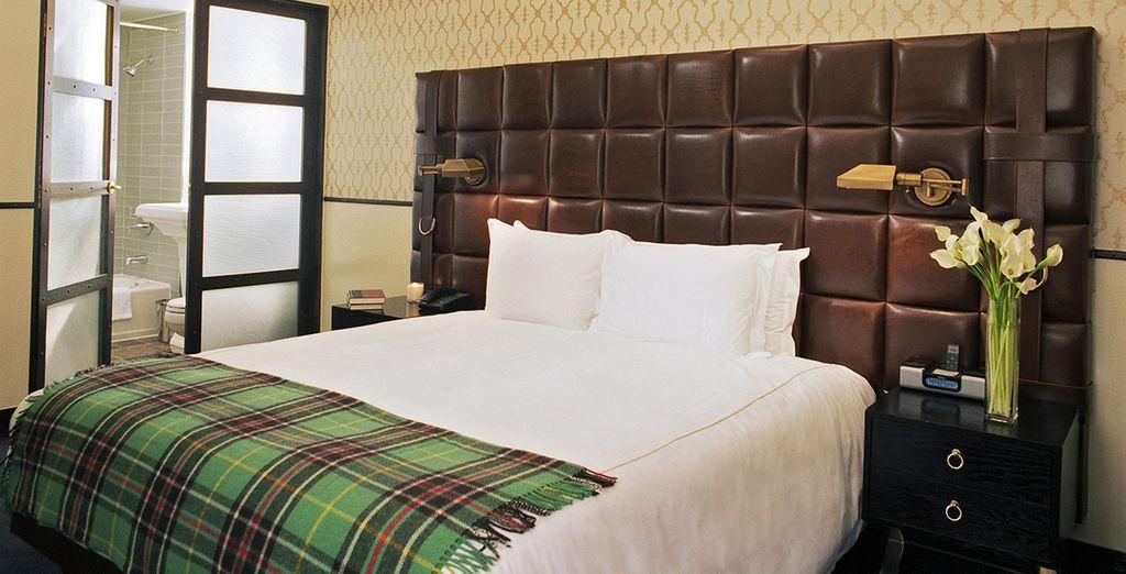 Elegante e accogliente, la vostra camere è perfetta per rilassarsi