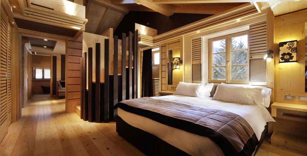 o l'altrettanto bella Suite Mirtillo.