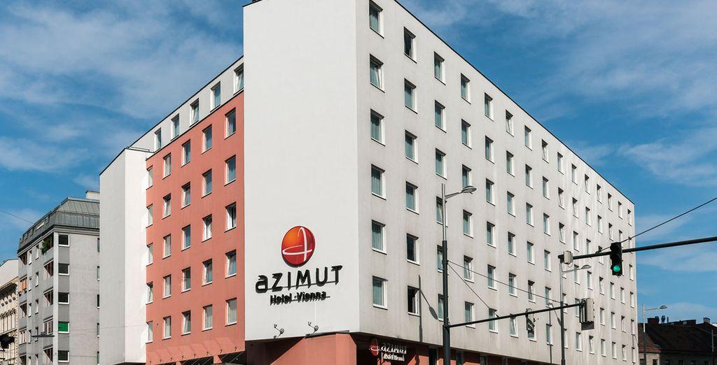 L'Azimut Hotel Vienna 4* vi attende