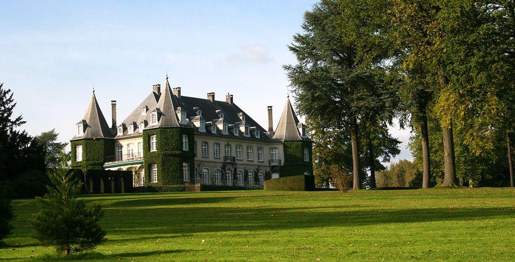 Potrete perfino visitare l'ottocentesco castello di Solvay