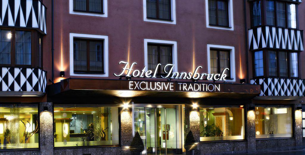 L'Hotel Innsbruck 4* vi attende