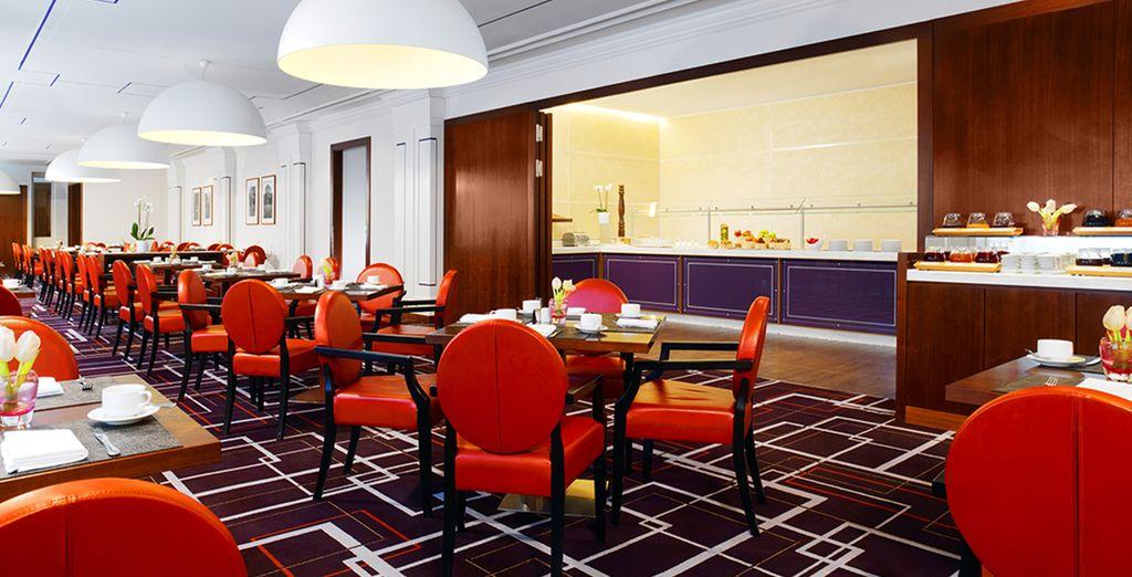 I diversi ristoranti dell'hotel