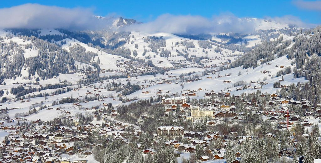 L' Ultima Gstaad vi augura una splendida vacanza sulla neve