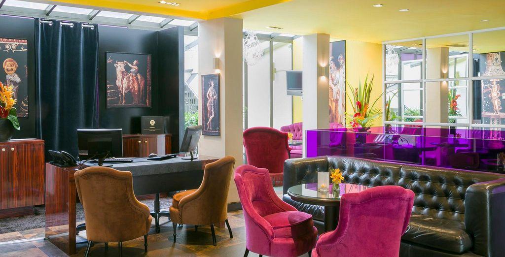 L'Hotel Le Bellechasse Saint Germain 4* è pronto ad accogliervi