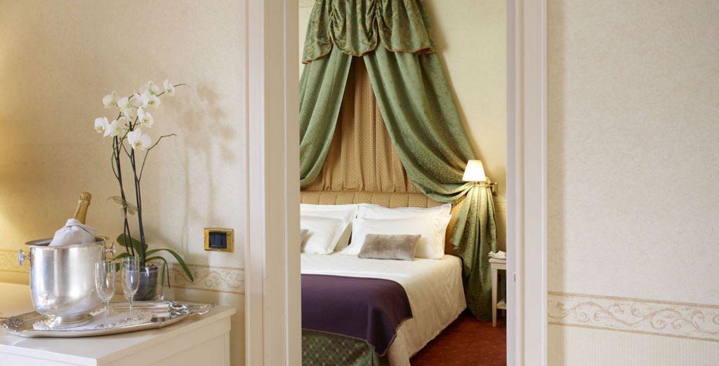 La Suite offre 45 m² di lusso e raffinatezza