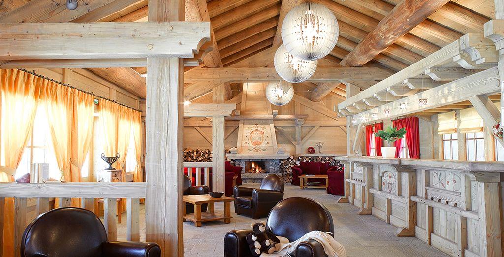 Scopri una splendida residenza calda e accogliente
