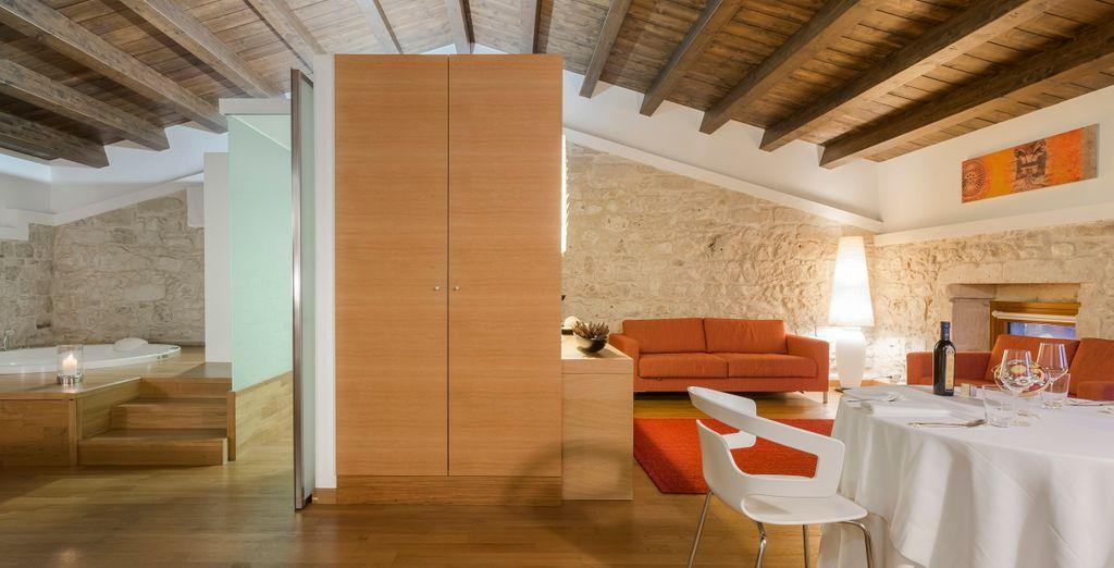 68 m² di lusso e fascino