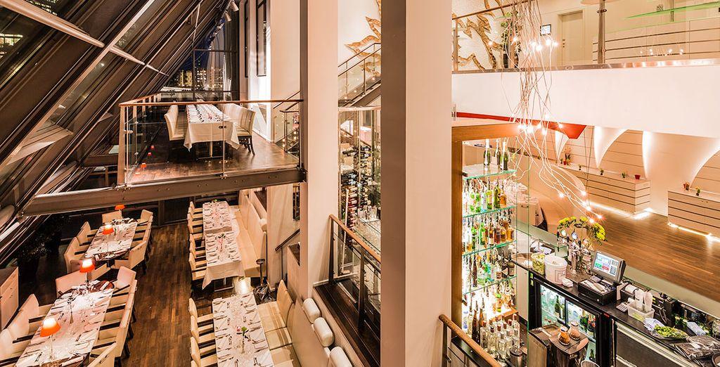 Hotel 4 stelle di alta gamma a Copenhagen con ristorante gourmet, spa e vicino a tutte le attività