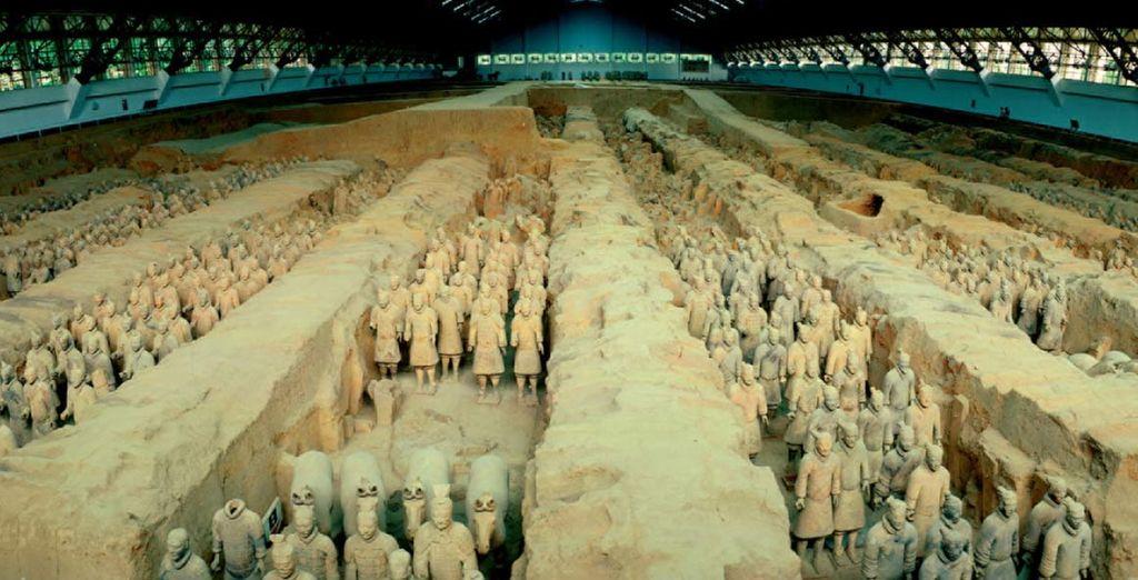 A Xi'An potrete ammirare l'incredibile Esercito di Terracotta
