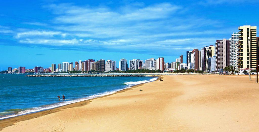 Prima tappa del vostro tour è Fortaleza