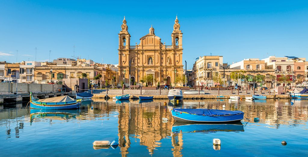Fotografia di Malta e dei suoi monumenti storici