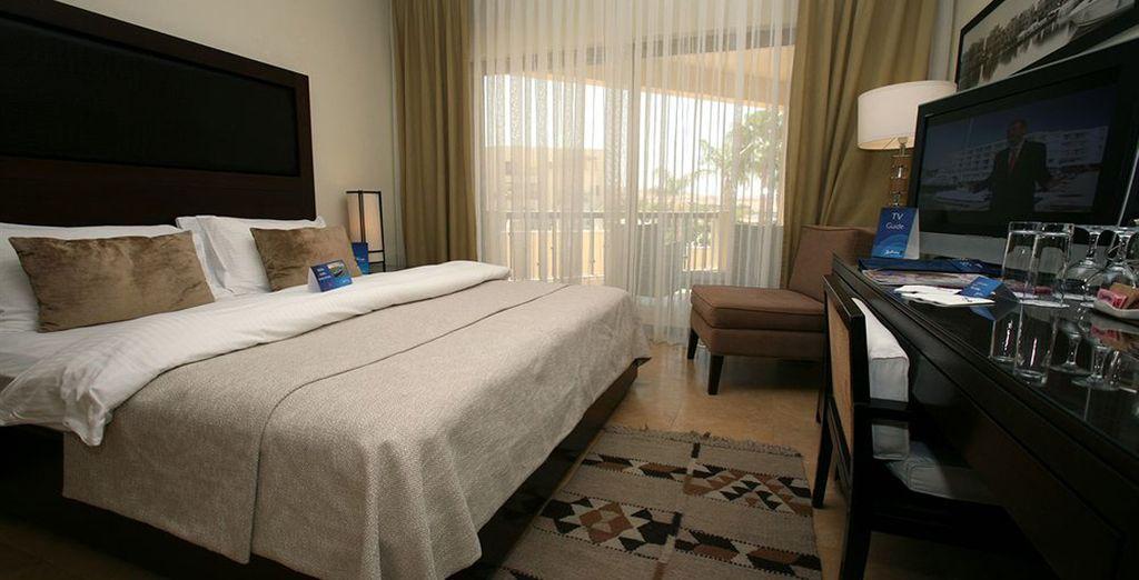 Hotel di lusso a 5 stelle e camera confortevole in Giordania
