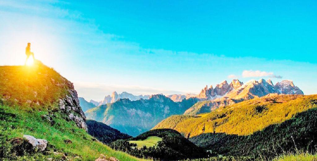 Benvenuti tra le Dolomiti, Canazei vi attende