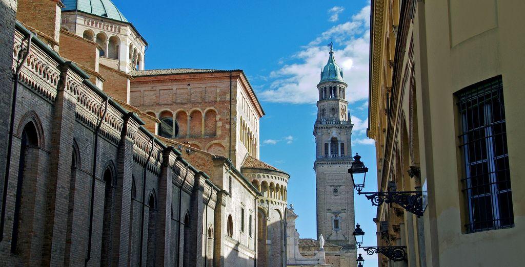 Scoprite la bellissima Parma che si trova a soli 11 km dal vostro hotel