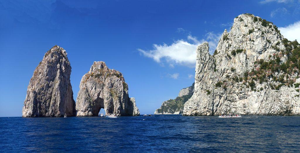 In supplemento potrete acquistare un tour alla scoperta di Sorrento e Capri