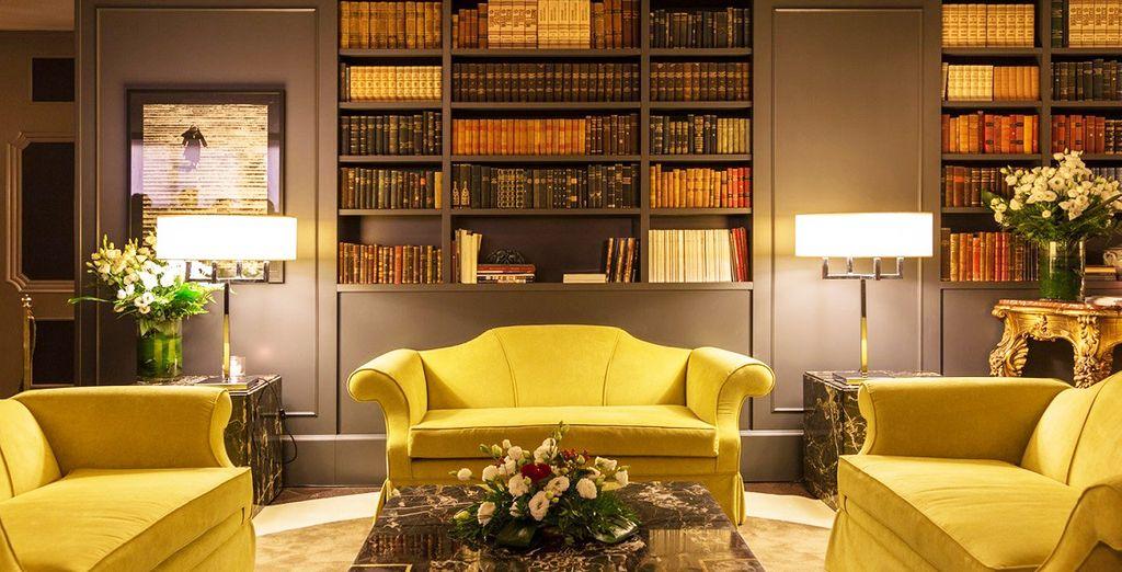 Un hotel elegante nel cuore del quartiere Parioli vi attende