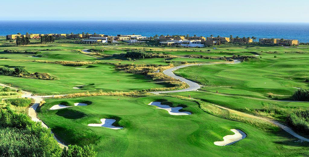 La struttura è perfetta per gli appassionati di golf