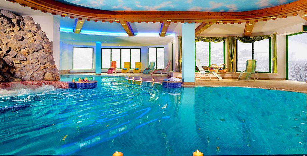 Benvenuti al Tevini Dolomites Charming Hotel 4*, dove vi accoglierà uno splendido centro benessere