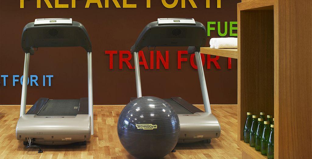 E se desiderate tenervi in forma, il resort offre un Health Center attrezzato con pesi.