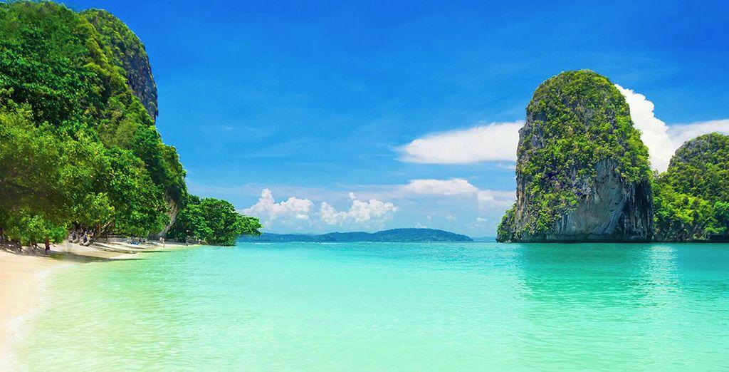 Potrete scegliere anche di aggiungere un'estensione per vivere un magico soggiorno mare a Krabi