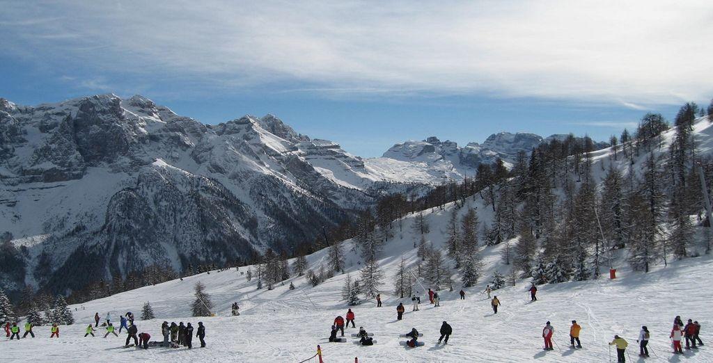 Trascorrete la vostra vacanza sulle imperdibili piste di scii