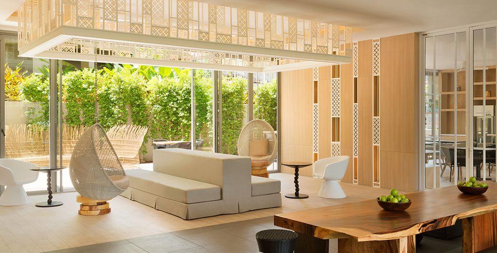 Questo splendido hotel dispone di ambienti moderni e curati in ogni dettaglio