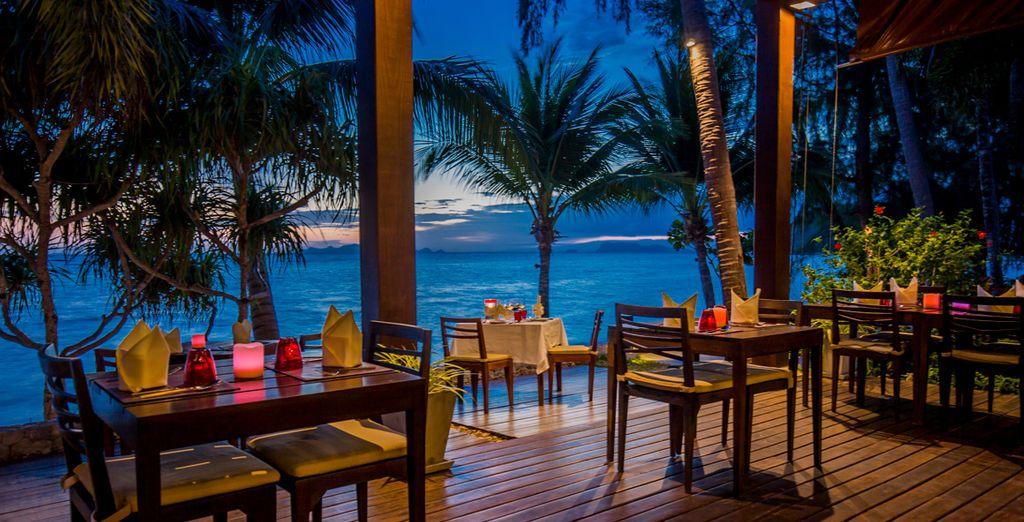 Godetevi le atmosfere rilassanti del posto con una splendida vista sul mare