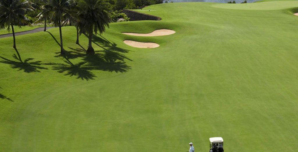 Non perdete una partita a golf in una location speciale