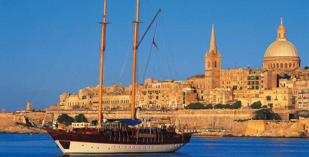 Visitate Malta, tra storia e mare