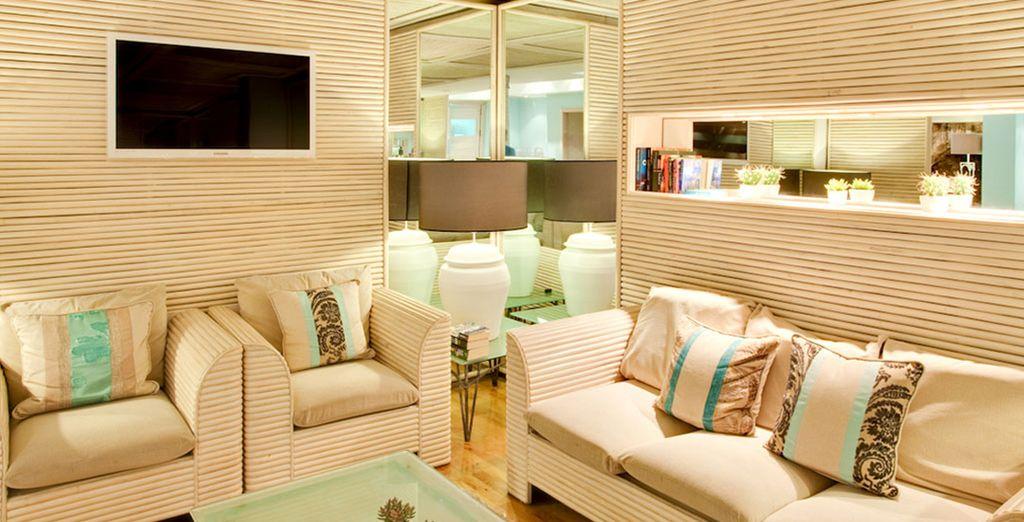 Scegliete il vostro angolo preferito, tra divani e cuscini