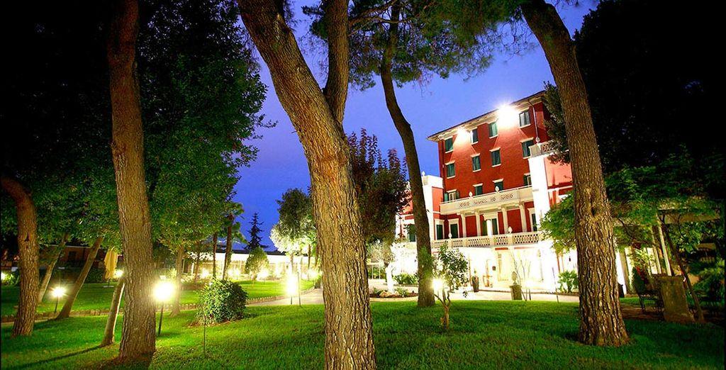 Un'elegante Villa 4* in stile Liberty vi attende