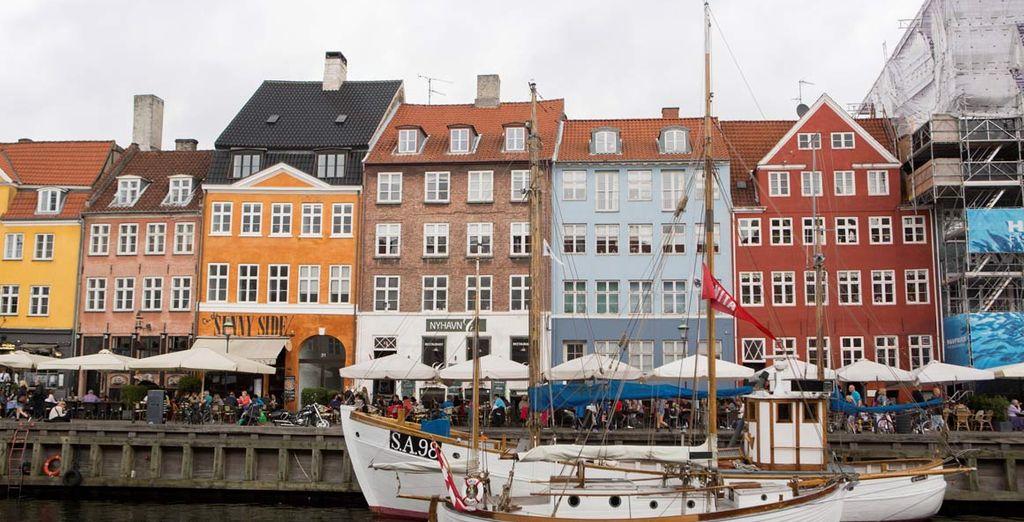 Copenhagen e i suoi caratteristici canali