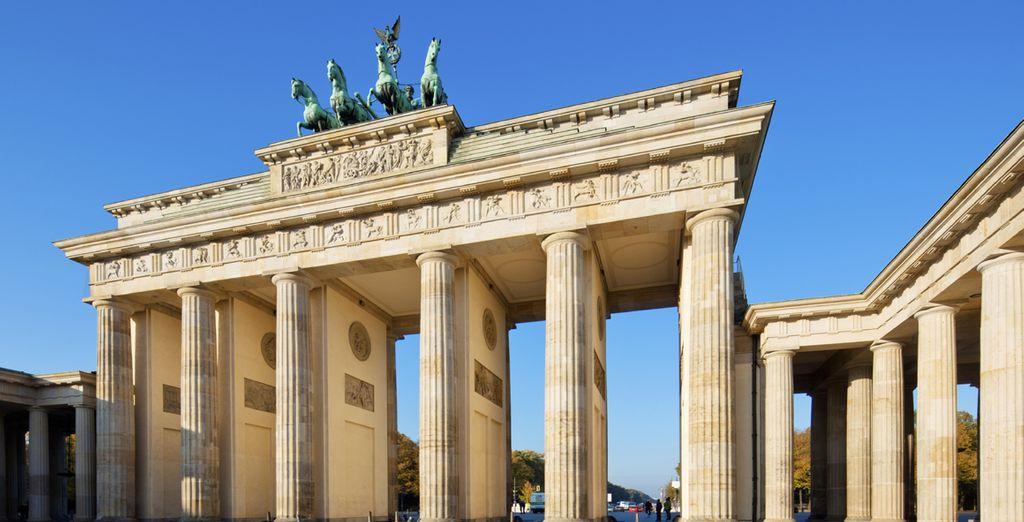 Situata nel cuore più vivo e vibrante di Berlino