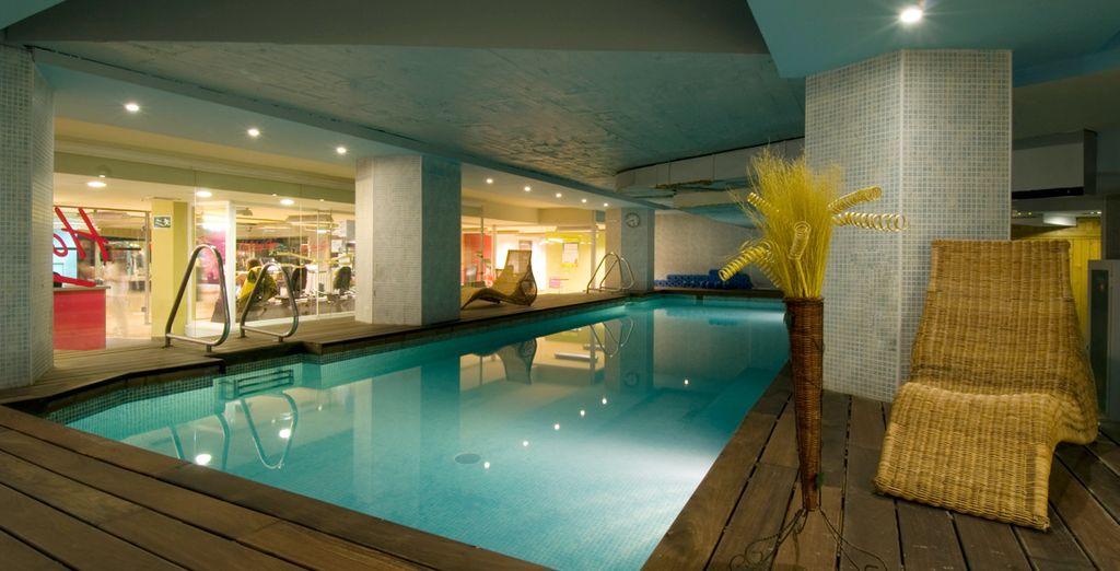 Godetevi una nuotata nella piscina riscaldata